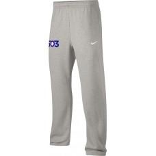 503 Baseball 24: Nike Team Club Fleece Training Pants (Unisex) - Gray