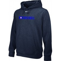 503 Baseball 20: Adult-Size - Nike Team Club Men's Fleece Training Hoodie - Anthracite
