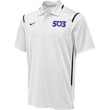 503 Baseball 23: Nike Men's Game Day Polo - White
