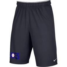 503 Baseball 26: Youth Size - Nike Team Fly Athletic Shorts - Anthracite