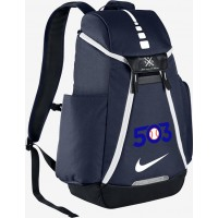 503 Baseball 27: Nike Elite Max Air Team 2.0 Backpack - Navy Blue