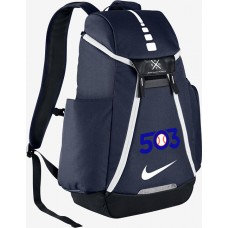 503 Baseball 27: Nike Elite Max Air Team 2.0 Backpack - Navy Blue